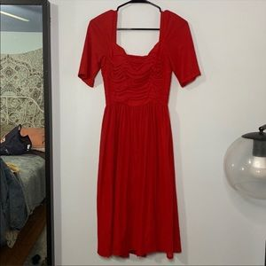 URBAN OUTFITTERS vintage style red dress